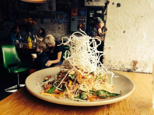 Thai Noodles from The Vegie Bar