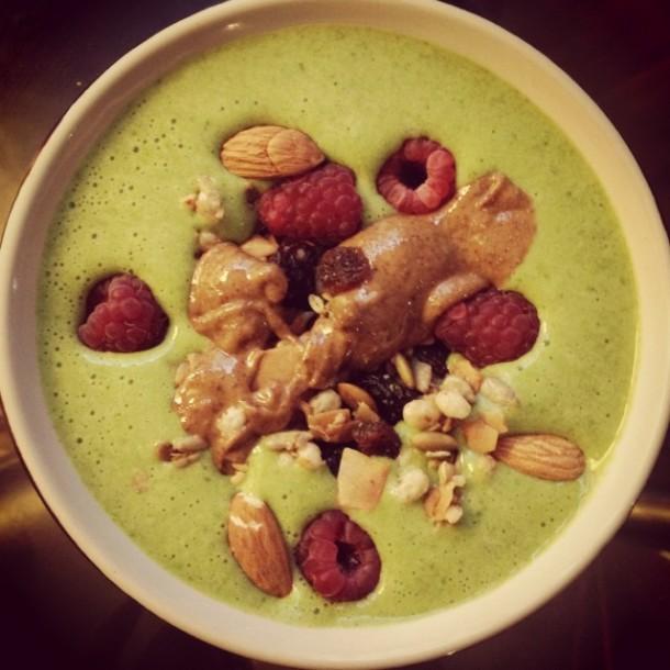 The original green smoothie bowl